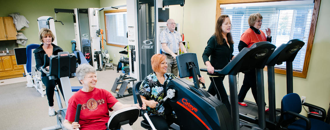 cancer rehabilitation centers has classes for exercise, nutrition and more
